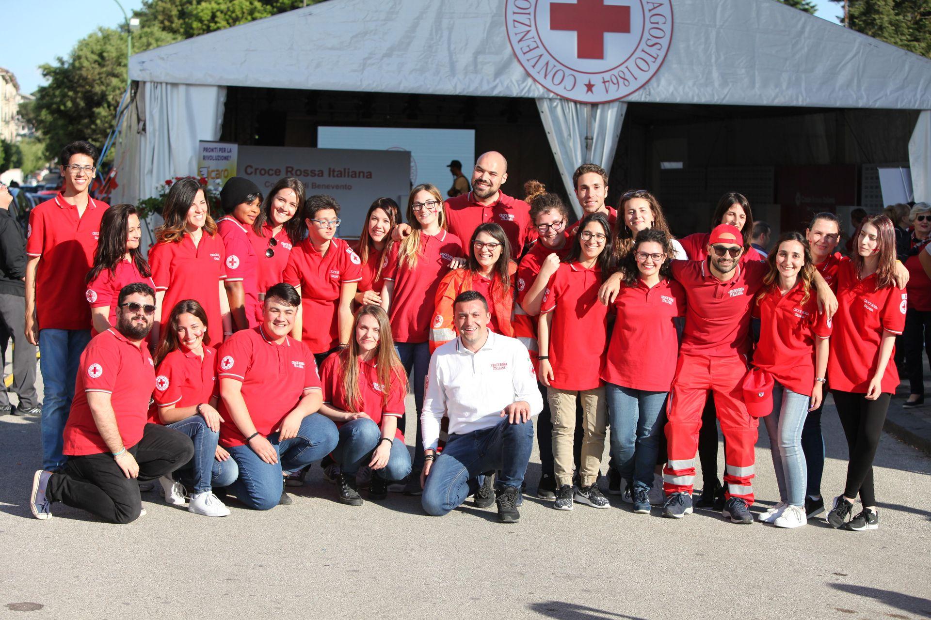 Gruppo volontari CRI Benevento