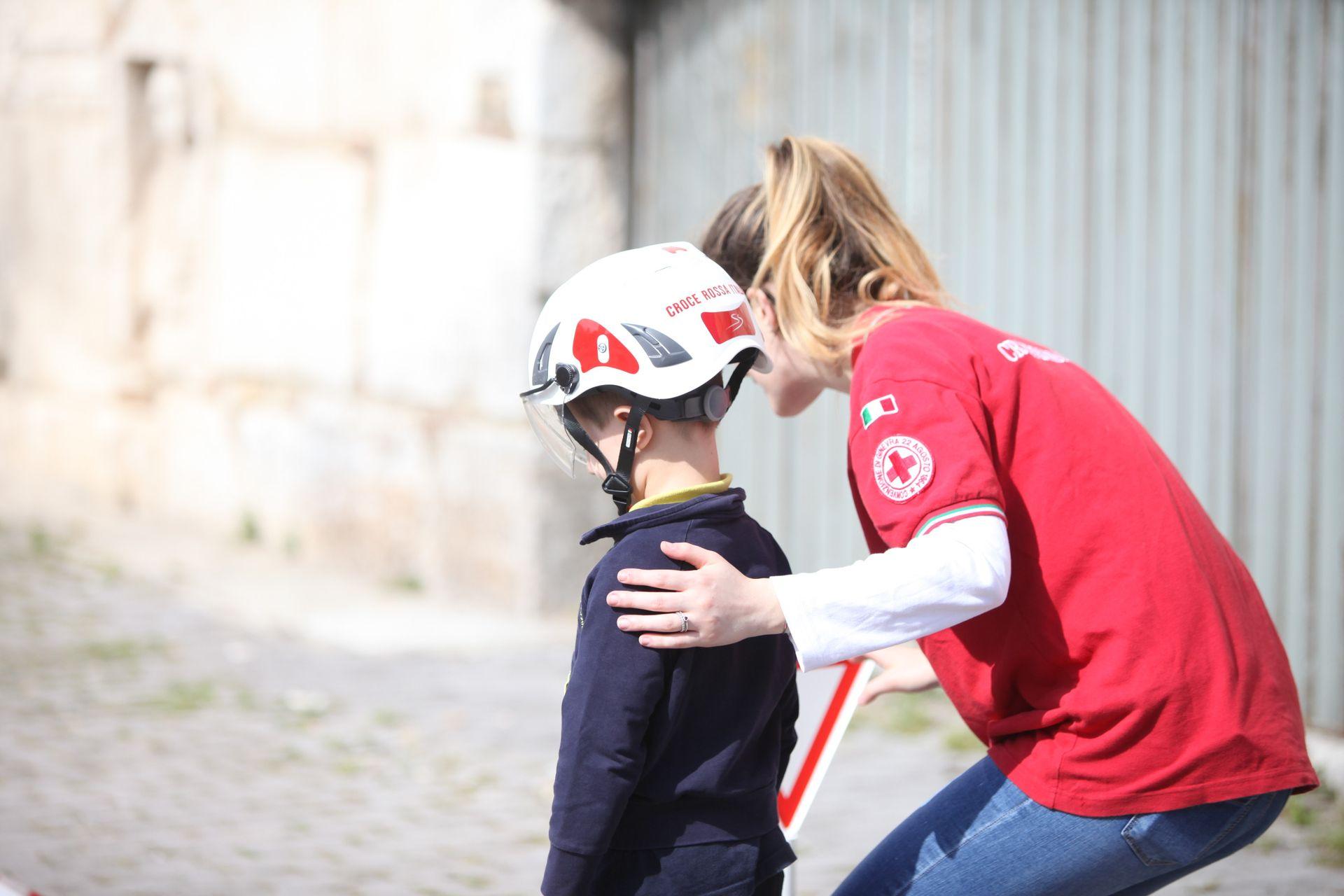 Volontaria CRI
